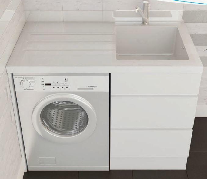 compact laundry unit